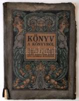 Kner Imre: Könyv a könyvről. Gyoma, 1912, Kner Izidor Könyvnyomdai Műintézete, 80 p. Kiadói illusztrált, fűzött papírkötés. Hét beragasztott műmelléklettel. Az iniciálékat, a címlapot, a szövegillusztrációkat, a keretdíszeket, valamint a borító rajzát Geiger Richárd készítette. Megviselt állapotban! Ajándékozási sorokkal.