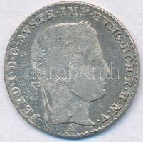 Ausztria 1837A 3kr Ag I. Ferdinánd T:2- Austria 1837A 3 Kreuzer Ag Ferdinand I C:VF