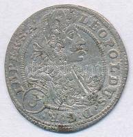 Csehország / történelmi tartomány 1703GE 3kr Ag I. Lipót Prága T:2 Bohemia 1703GE 3 Kreuzer Ag Leopold I Prague C:XF