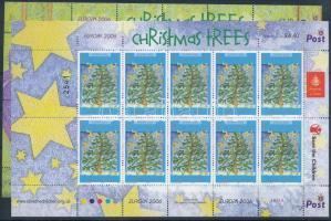 2006 Karácsonyfa 2 db kisív Mi 1326, 1328
