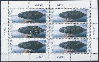2001 Europa CEPT, éltető víz kisív Mi 228-229