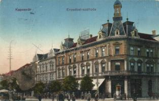 Kaposvár, Erzsébet szálloda (felületi sérülés / surface damage)