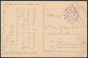 1917 Tábori posta képeslap K.u.k. Reservespital + ROHITSCH-SAUERBRUNN d