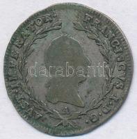 Ausztria 1820A 5kr Ag I. Ferenc Bécs T:2- patina Austria 1820 5 Kreuzer Ag Franz I Vienna C:VF patina