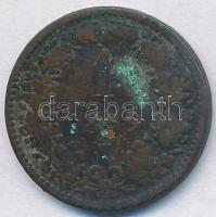 Ausztria 1859V 1kr Cu Velence T:2- kis patina Austria 1859V 1 Kreuzer Cu Venice C:VF small patina  Krause KM# 2186