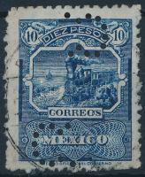 1895 Forgalmi Mi 189 A (céglyukasztással)
