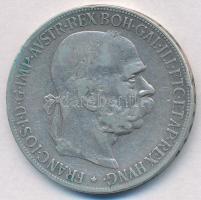 Ausztria 1900. 5K Ag Ferenc József T:2-,3 Austria 1900. 5 Corona Ag Franz Joseph C:VFF