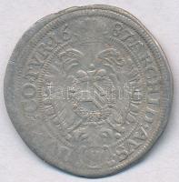 Ausztria 1687MM 6kr Ag I. Lipót Bécs T:3 Austria 1687MM 6 Kreuzer Ag Leopold I Vienna C:F