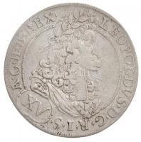 Ausztria 1694. 15kr Ag I. Lipót Hall T:2- Austria 1694. 15 Kreuzer Ag Leopold I Hall C:VF Krause KM#1289