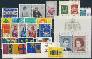 1965-1967 23 stamps + 1 block, 1965-1967 23 klf bélyeg + 1 blokk
