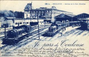 Toulouse, Gare Matabiau / Railway station, locomotives
