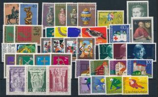 1974-1975 40 stamps, 1974-1975 40 klf bélyeg