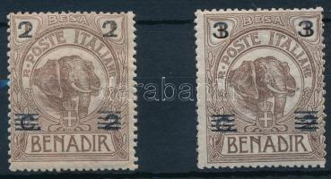 1923 Forgalmi sor 2 értéke Mi 35-36