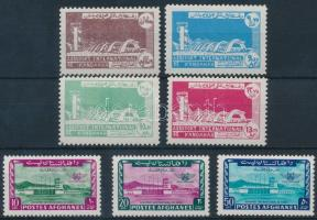 1964 Nemzetközi repülőtér megnyitása 2 klf sor Mi 906-909, 910-912