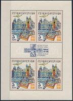 Stamp Exhibition mini sheet, Bélyegkiállítás kisív