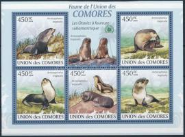 Mammals mini sheet, Emlősök kisív