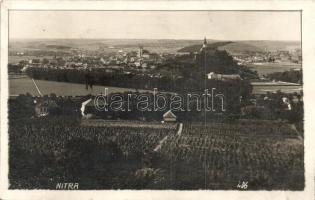 1933 Nyitra, Nitra; Látkép / general view, photo