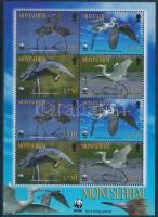 2010 WWF: Madár kisív Mi 1524-1527