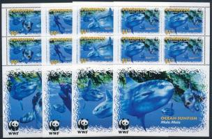 2003 WWF: Naphal kisívsor Mi 605-608