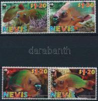 2007 WWF: Papagájhalak sor párokban Mi 2208-2211