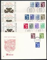 1978-1983 5 FDC, 1978-1983 5 klf FDC