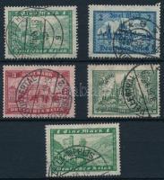 1924 Épületek sor Mi 364-367 X + 364 Y