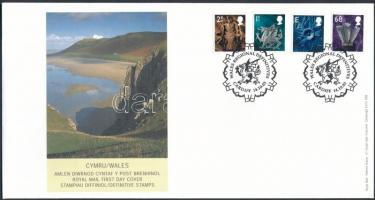Definitive set FDC, Forgalmi sor FDC-n