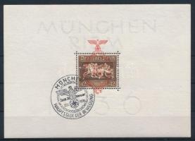 1937 Lóverseny blokk alkalmi bélyegzéssel Mi 10