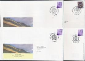 Skócia 2000-2005 4 klf FDC
