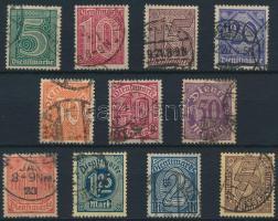 1920 Hivatalos sor Mi 23-33