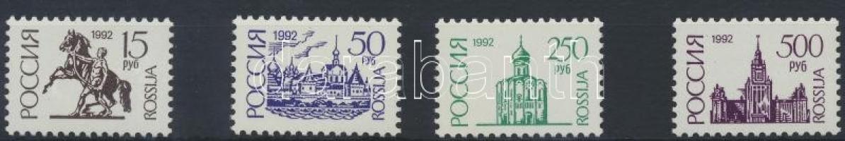 1992 Forgalmi sor Mi 278 lAv - 281 IAv