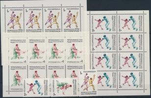 1992 Olimpia sor + kisív sor Mi 245-247