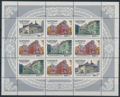 1995 Házak kisív Mi 415-417
