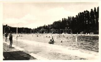 1949 Miskolc-Tapolca fürdő, strand, kiadja Póka Györgyné