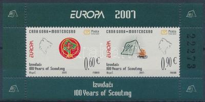 2007 Europa CEPT, Cserkész blokk Mi 6
