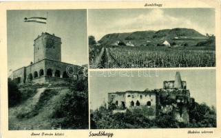 Somlóhegy, Bakács várrom, Szent István kilátó (EK)