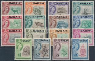 Sabah 1964 Forgalmi sor Mi 1-16