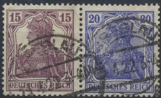 1920 Germania bélyegfüzet összefüggés Mi W14