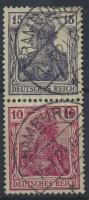 1919 Germania füzetösszefüggés Mi S9 aa