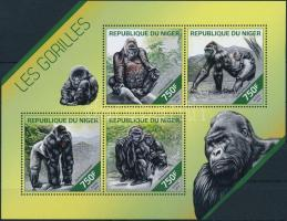 2014 Gorilla kisív Mi 2875-2878