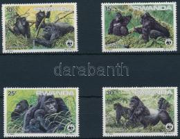 1985 Gorilla sor Mi 1292-1295