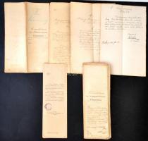 1895 Dunaszentpál község költségvetési előirányzatának főkimutatása és pótköltségvetése.