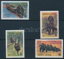WWF: Csimpánz sor, WWF Chimpanzee set