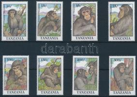 Csimpánz sor, Chimpanzee set