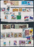 1997-1998 12 klf önálló érték + 3 klf sor + 1 blokk