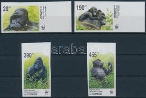 Gorilla imperforated set, Gorilla vágott sor