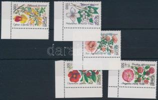1997 Növény ívsarki sor 554-558