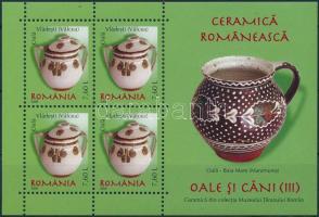 Romanian ceramics: pots and jugs block, Román kerámia: fazekak és korsók blokk
