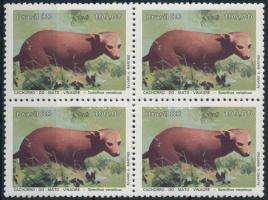Protected animals block of 4, Védett állatok négyestömb