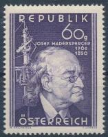 Josef Madersperger, Josef Madersperger